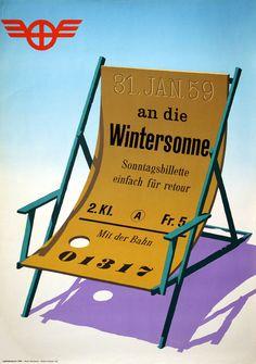 Hartmann Hans, SBB - Sonntagsbillette, Jahr: 1959