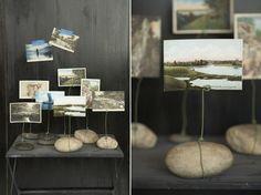 Flusssteine kreative Gestaltung Ideen Natur