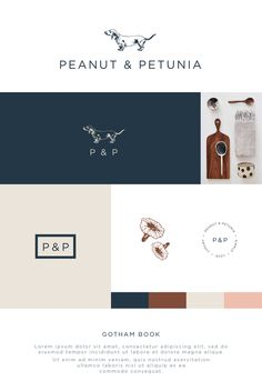 Logo package for the gorgeous Peanut & Petunia. Simple, luxury, New Zealand beeswax candles and homeware. Painted Cakes, Beeswax Candles, Corporate Identity, Brand Packaging, Petunias, Custom Paint, Minimalist Design, Timeless Design, Lorem Ipsum
