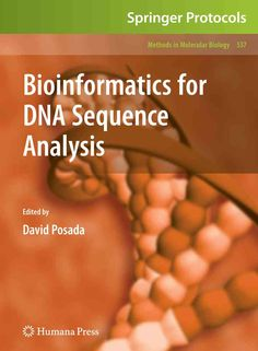 37 best bioinformatics books images on pinterest book books and libri bioinformatics for dna sequence analysis methods in molecular biology a book by fandeluxe Image collections