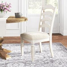 Kelly Clarkson Home Sylvan Extendable Dining Table & Reviews | Wayfair Ladder Back Chairs, Side Chairs, Counter Bar Stools, Wood Countertops, Extendable Dining Table, Upholstered Dining Chairs, Engineered Wood, Adjustable Shelving, Kelly Clarkson