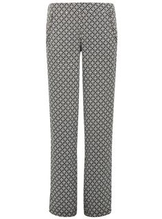 Dorothy Perkins palazzo pants in black and white