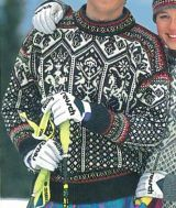 Kirtland's Yarn Barn - Dale of Norway Lillehammer 1994 Pattern Book