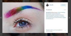 Nyt satenkaaren värit koristavat kulmakarvoja - katso kuvat uudesta trendistä