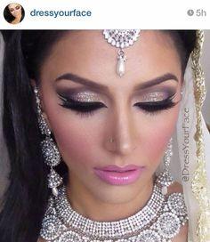Photo: DressYourFace I frigging love you lol https://Instagram.com/preanka_glam #dressyourface #tammana #roshan #preankaglam #glamtheory #glamtheorybypreanka Glam Theory by Preanka
