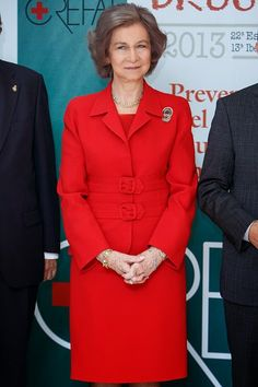 Queen Sofia Attends 'Queen Sofia Against Drugs' Awards ceremony on December 9, 2014 in Madrid, Spain