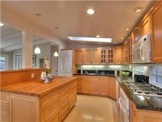Monta Loma Mackay remodeled kitchen.