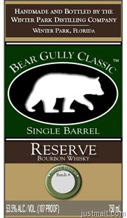 Winter Park - Bear Gully Classic Reserve Bourbon Whiskey