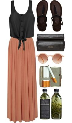 """""""endless summer"""" by rosiee22 ❤ liked on Polyvore"""