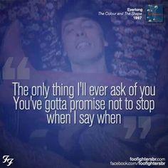 Favorite Foo Fighters song.