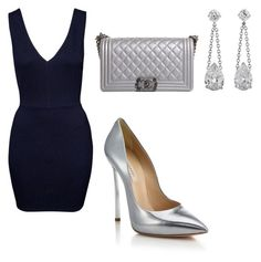 """""""Untitled #14"""" by tereza-99 on Polyvore featuring Casadei and Chanel"""