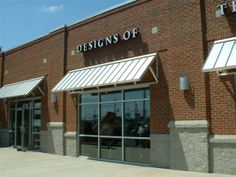 This Awning Is A Standing Seam Lots Of Commercials Builders Are Using Type