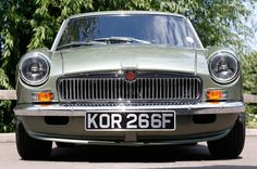 MG LE50 front grille