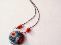 DIY Fabric Necklace Tutorial