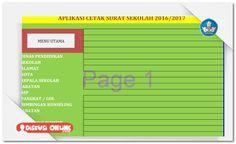 Berkas Guru Sekolah: Aplikasi Cetak Surat Sekolah Otomatis v2 Terbaru [Dokumen Pendidikan] Muslim, Bar Chart, Bar Graphs, Islam