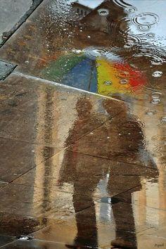Rain by k.ozlowski pawel, via Pluie et parapluie Walking In The Rain, Singing In The Rain, Rainy Night, Rainy Days, Smell Of Rain, I Love Rain, Rain Go Away, Sound Of Rain, Rain Photography