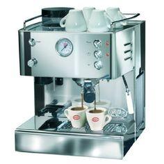 Quick Mill Combo set Made in Italy. Barista, Espresso Maker, Coffee Maker, Baby Registry Items, Italian Espresso, Latte Macchiato, Kitchen Appliances, Random Stuff, Italy