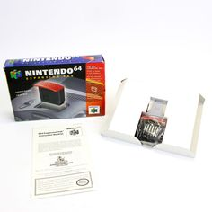 Nintendo 64, N64 Official Expansion Pak the Nintendo 64, Boxed