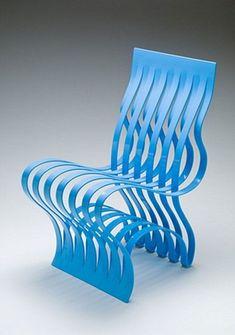 Current chair by Vivian Beer - #chair #chairdesign #chairideas #design #futuristicfurniture