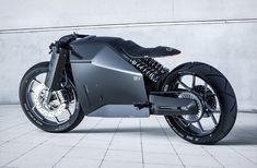 Electric motorbike is a project from Behance. Electric motorbike was designed and engineered by two people: Artem Smirnov and Vladimir Panchenko. It is an exploration of minimalism in the design of an electric motorbike. Triumph Motorcycles, Concept Motorcycles, Custom Motorcycles, Custom Bikes, Custom Choppers, Futuristic Motorcycle, Motorcycle Style, Japan Design, Bobbers