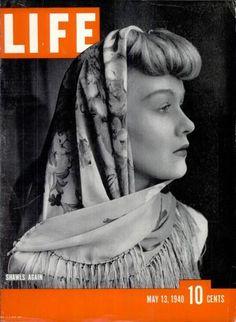 May 13, 1940 issue of LIFE magazine. Shawls Again