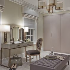 Dressing rooms are what dreams are made of and we are about to start work on our biggest and best one to date #interiors #interiordesign #dressingroom #surrey #luxuryhome #luxuryinteriors #sophiepatersoninteriors