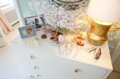Love the look and dresser. aerin lauder