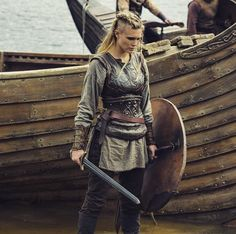"""Aurora """"Not every woman is a home person. We are warriors, just like men."""""""