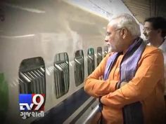 Bullet trains on top of Modi's to-do list    Prime Minister Narendra Modi planning to start Bullet train in india, the top rail bureaucracy seems aflutter with plans to build a high speed corridor connecting the 543 kilometer distance between Mumbai and Ahmedabad.  For more videos go to  http://www.youtube.com/gujarattv9  Like us on Facebook at https://www.facebook.com/tv9gujarati Follow us on Twitter at https://twitter.com/Tv9Gujarat