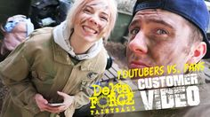 See what happens when popular YouTube vloggers Alex Barnes and Trent Owers return to paintball to go face-to-face with a few of their most loyal and dedicated fans at our Cobham Paintball Centre in London!   Which team will get to the flag first? Team Green or Team Blue?
