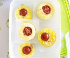 Light, fluffy and packed full of creamy melted cheese and fresh ham, these mini frittatas are easy to make and perfect for a quick breakfast or on-the-go lunch. Best Egg Recipes, My Recipes, Snack Recipes, Cooking Recipes, Snacks, Fresh Ham, Muffin Tin Recipes, Frittata Recipes, High Protein Low Carb