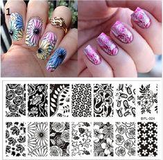 Nail Art Stamping Square Stamping PlatesStamp Template