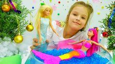 Детские игрушки и игры для девочек: вечеринка у Барби. Видео распаковка ...