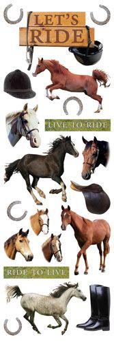 pony stickers!