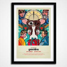 Fancy   Gremlins Print by Van Orton
