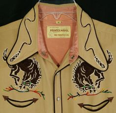1940s western shirt. Few can pull this off, but it's an incredible sight to behold when they do.