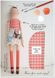 DIY Wooden Doll Kits