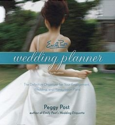 Emily Post's Wedding Planner will help couples ask all the right questions, keep track of details, stay on budget, and plan ta dream wedding.