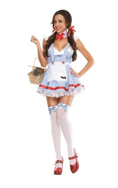 Sexy Dorothy Costume - Wizard of Oz Miss Kansas – Costume Whore