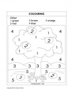 coloring activity teaching coloring - Color Activity For Kindergarten