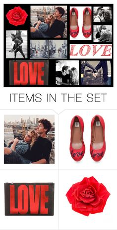 """LOVE SWEET LOVE"" by beleev ❤ liked on Polyvore featuring art"