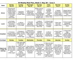 Bi-Weekly Meal Plan LARGE 22a