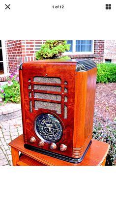 Radios, Old Time Radio, Antique Radio, Radiology, Consoles, Phones, Art Deco, Cars, Electronics