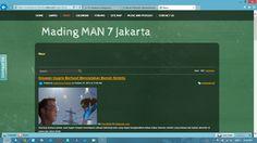 Mading MAN 7 Jakarta - News