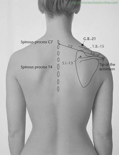 G.B.-21 Shoulder Well JIANJING - Acupuncture Points | Acupuncture ...
