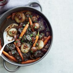 Beef Stew in Red Wine Sauce Recipe - Jacques Pépin | Food & Wine