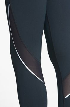 pretty reflective detail - Zella 'Perfect' Running Tights   Nordstrom