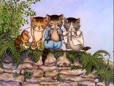 Le Monde Merveilleux de Beatrix Potter - Le Conte de Tom Chaton et Sophi... Beatrix Potter, Conte, Bowser, Toms, Fictional Characters, Art, Short Films, Beautiful World, Cartoon