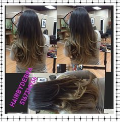 Ombre hair #highlights#