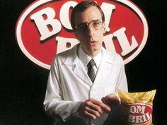 ...lembrar-se com saudosismo dos comerciais do homem do Bombril.